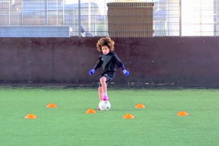 WATCH: Chelsea 8-year-old prodigy dazzles with his awesome footwork
