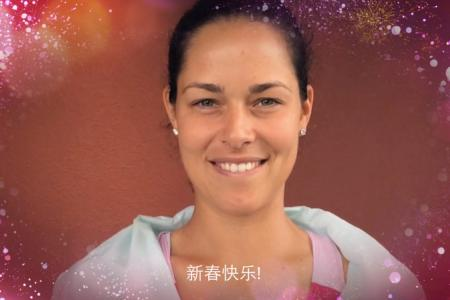 WATCH: WTA stars send their Chinese New Year wishes