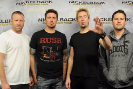 All for charity, a man is listening to 168 hours of Nickelback