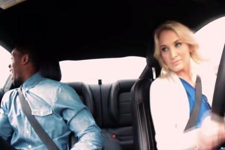 Watch: Professional female stunt driver pranks men during blind dates