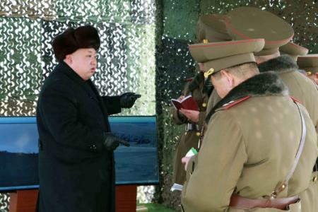 N. Korean leader Kim Jong-Un tells army: Prepare for war!