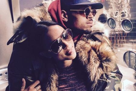 Chris Brown has a baby with longtime model friend