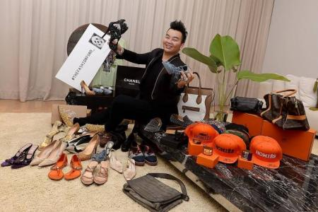 S'pore rich kid sells $20k worth of branded items for charity