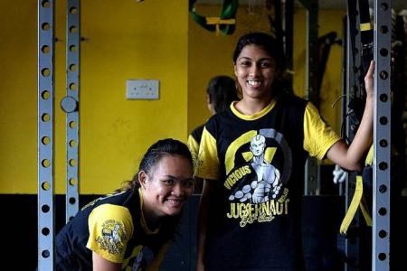 National team female boxers fight as hard as the boys