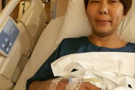Irene Ang has surgery after health scare
