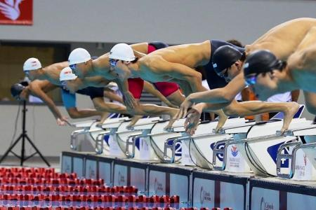 Not his pet event, but Zheng  Wen sets new national mark in 100m free