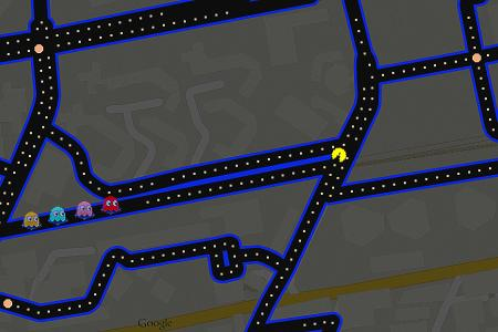 You can now play Pac-Man on Google Maps