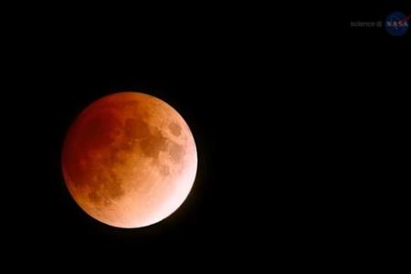 Catch Saturday's 'Blood Moon' in Singapore