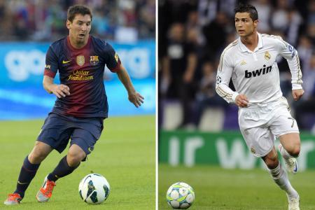 Ferguson: No one comes close to Messi and Ronaldo