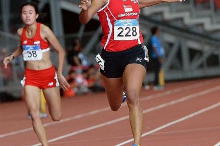 Good times ahead for Shanti in June's SEA Games