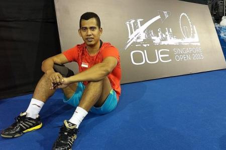 Hendra's back with new doubles partner