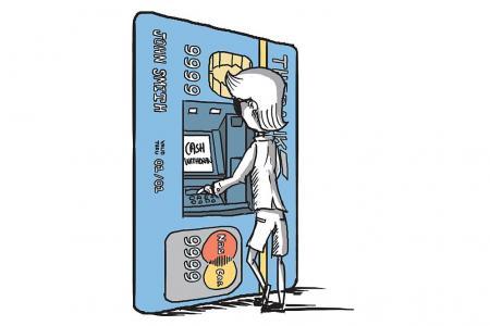 He had credit card debt of $80,000