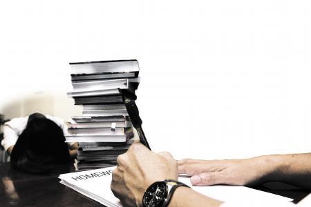 Parents hire tutors... to do kids' homework