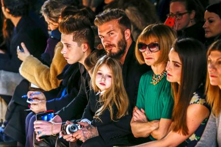 David Beckham 'photobombs' his son's Instagram video