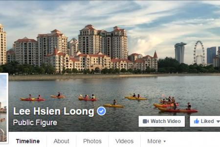 Three on FB: PM Lee's best Facebook posts