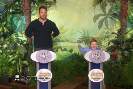 In your face, Chris Pratt!