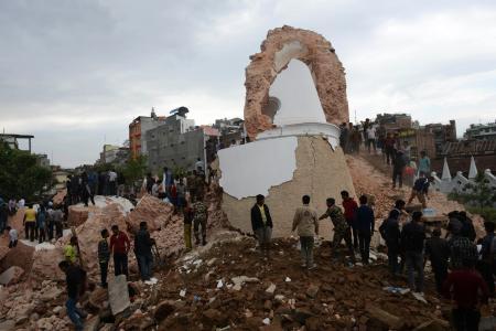 Worst earthquake in 80 years hits Nepal