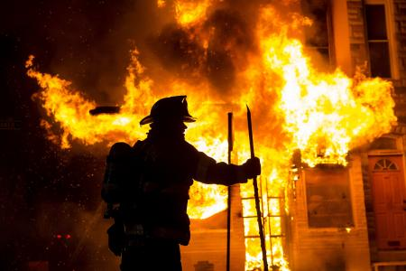 Baltimore Riot: In pictures