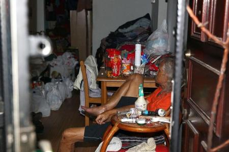 Marsiling residents upset with neighbour spraying water out of flat for hours