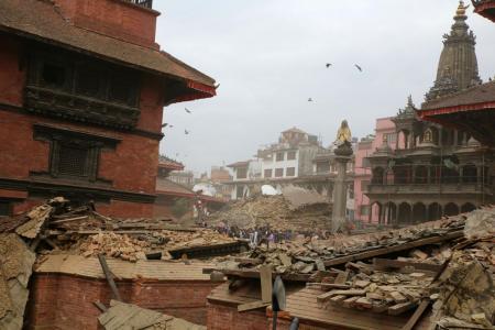 S'pore woman's close shave in Nepal quake