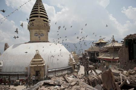 60 temples destroyed in Nepal earthquake