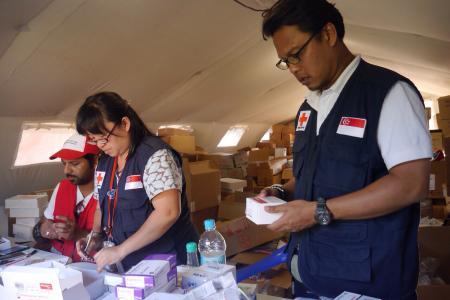 Singapore team helps clear cargo congestion at Kathmandu airport
