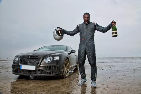 Idris Elba sets new British landspeed record in a Bentley