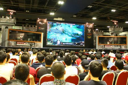 S'pore gaming team eyeing millions in prize money