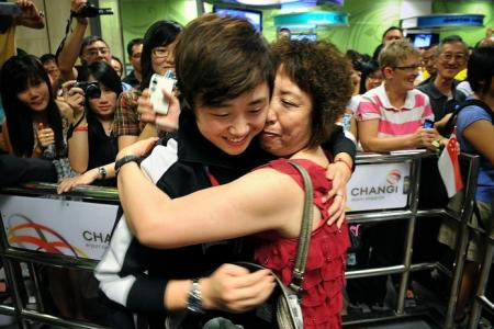 Mum's word was final for Feng
