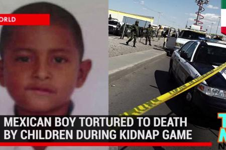 Five children charged over killing of six-year-old Mexican boy