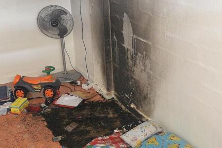 Mum: My toddler got burned saving his baby brother