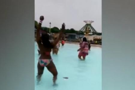 Adults-only twerk party at family theme park sparks outrage