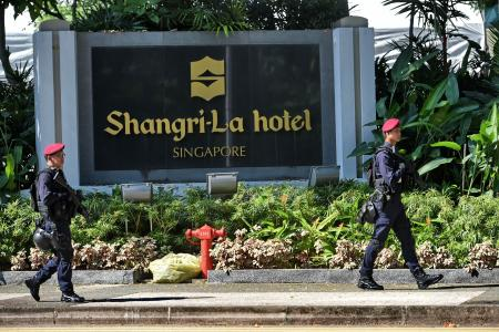 Car Park Near Shangri La Hotel