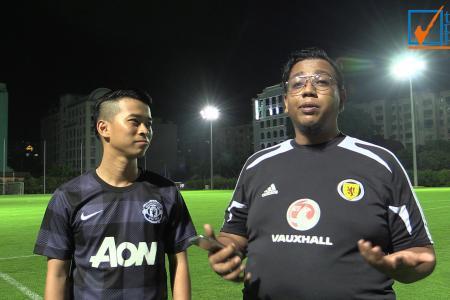 SEA Games Challenge: TNP takes on football