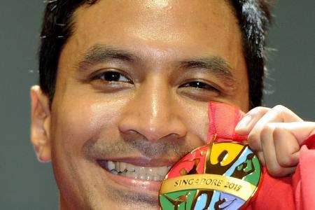 Fourth individual gold for Thai veteran Nontapat