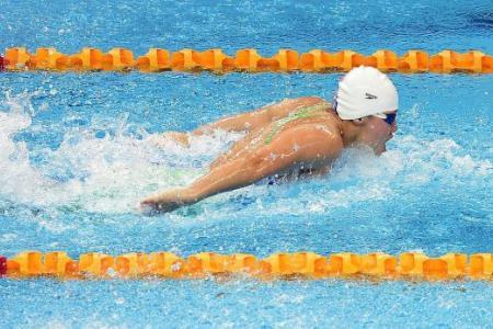 Tao Li makes her mark in 50m butterfly