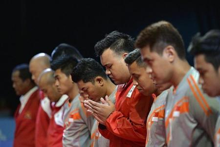 Sepak takraw boys' morale hit as critically injured teammate fights for his life
