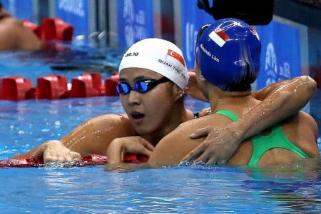 Quah Ting Wen turns on the style for double gold