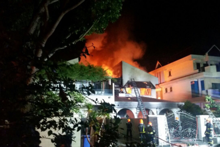 Update: Yio Chu Kang house fire injures six, two bodies found