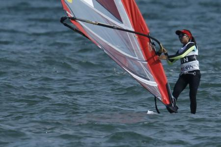 First windsurfing gold for Singapore in 26 years