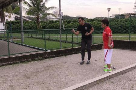 WATCH: The New Paper takes on petanque!