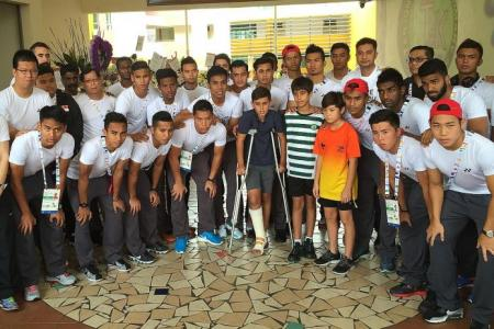 Coach Aide dedicates SEA Games matches to TKPS children