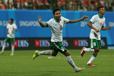 Indonesia send Young Lions packing