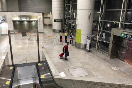 HK train station where Mers suspect had been is deserted