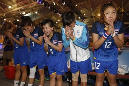 Women's regu win takes Thailand's takraw gold tally to four