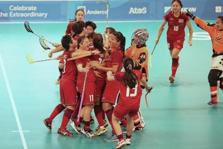 Thailand set for double face-off with Singapore in floorball finals