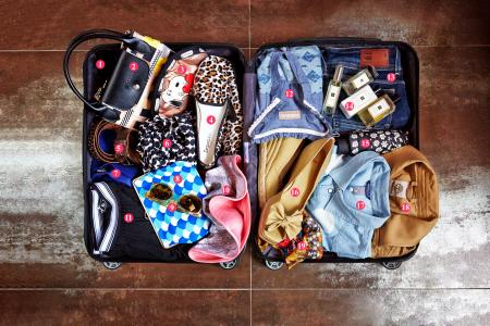 How to pack for a chic getaway