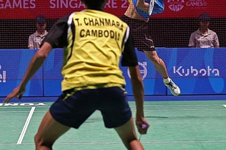 Local surprise package Kean Yew already assured of badminton bronze