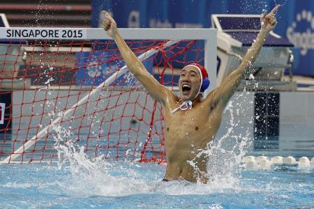 Singapore retain water polo gold