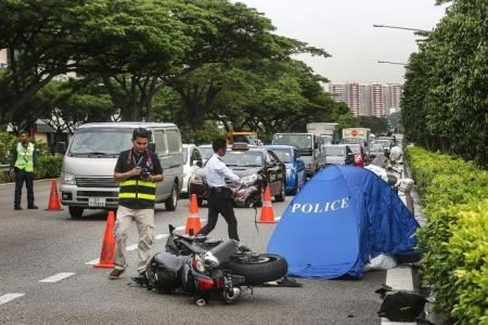 Dead biker's dad: No point hating man who caused crash